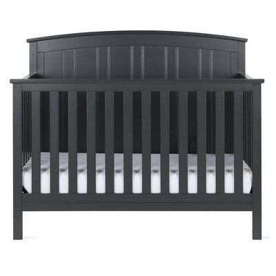 Baby Relax Jaymes 5-In-1 Convertible Crib Gray