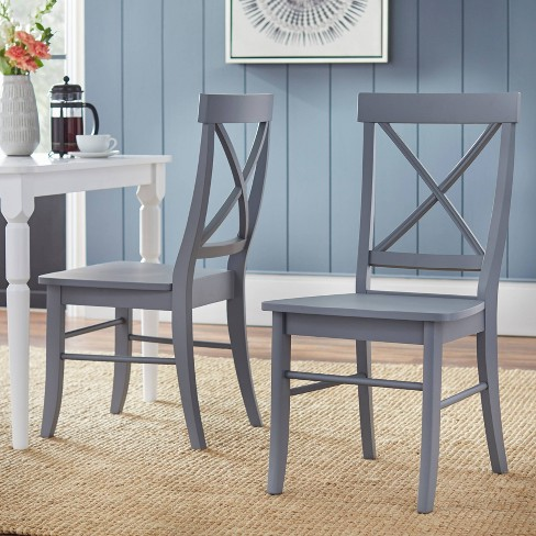 Set Of 2 Albury Dining Chairs Gray Buylateral Target