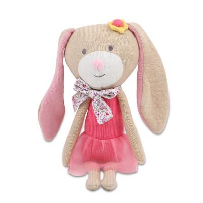 Peanut Shell Harper the Bunny Knit Plush