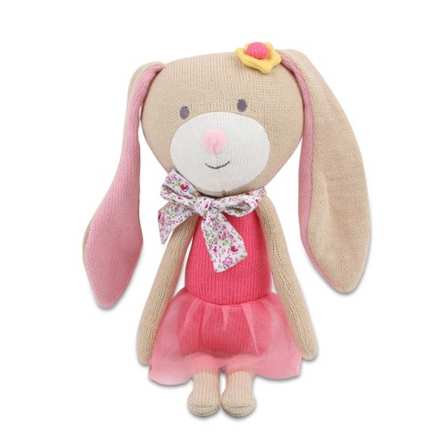 Peanut Shell Harper the Bunny Knit Plush - image 1 of 4