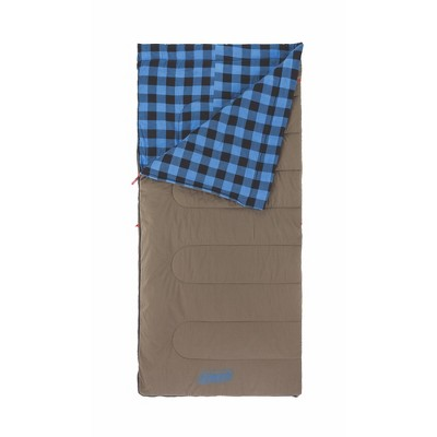 Coleman Autumn Trails 30°F Tall Sleeping Bag - Brown