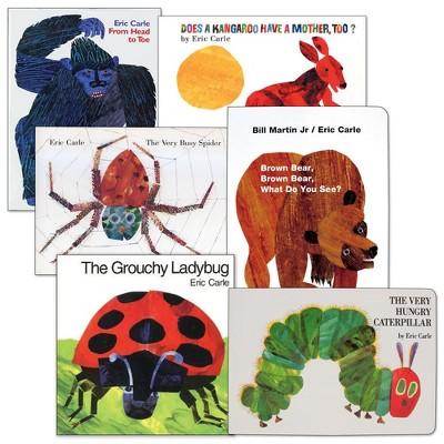 Eric Carle English Book Set  - Set of 6