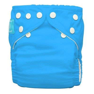 Charlie Banana All-in-One Reusable Diaper 1 pack, One Size - Turquoise