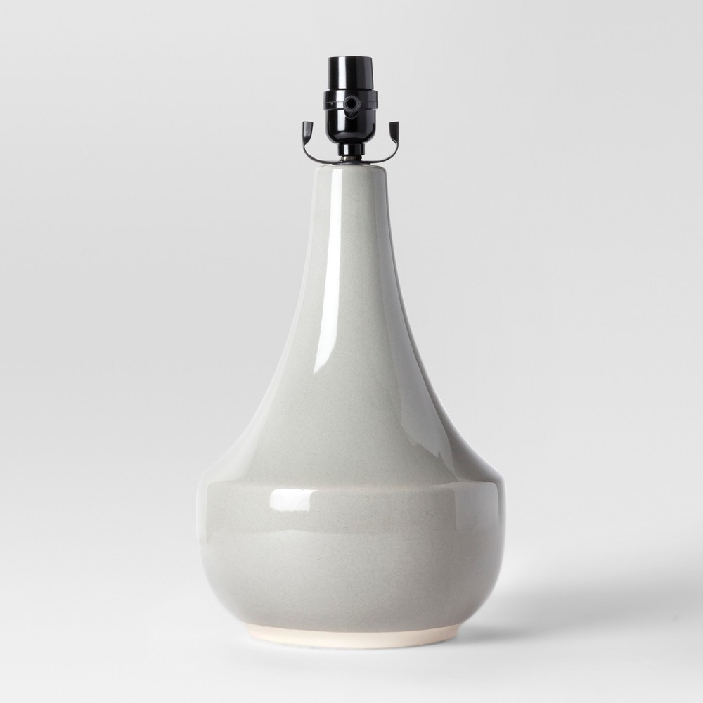 Montreal Wren Large Lamp Base Gray Includes Energy Efficient Light Bulb - Project 62