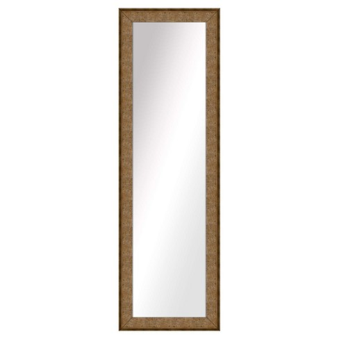 Decorative Wall Mirror PTM Images Gold - image 1 of 1