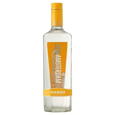 New Amsterdam Mango Flavored Vodka - 750ml Bottle