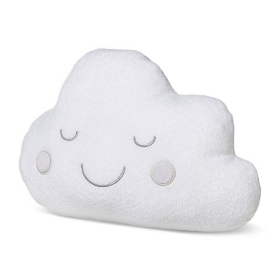 Plush Throw Pillow Cloud - Cloud Island™ - White