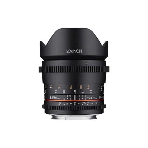 Rokinon 16mm T2.6 Cine DS Full Frame Lens for Canon EF Mount - image 1 of 4