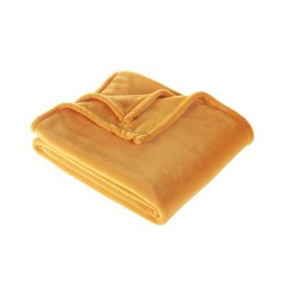 Plush Throw Blanket Yellow - Room Essentials™