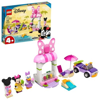LEGO Disney Mickey and Friends Minnie Mouse's Ice Cream Shop 10773 Building Kit