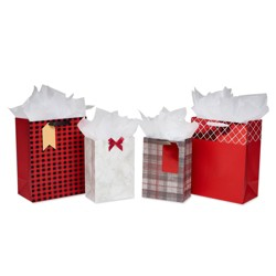 4ct Gift Bag and Tissue Paper Bundle - American Greetings
