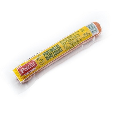Rego's Purity Mild Portuguese Sausage - 10oz