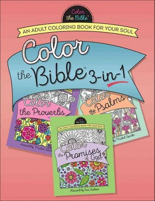Color The Bible 3 In 1 An Adult Coloring Book For Target