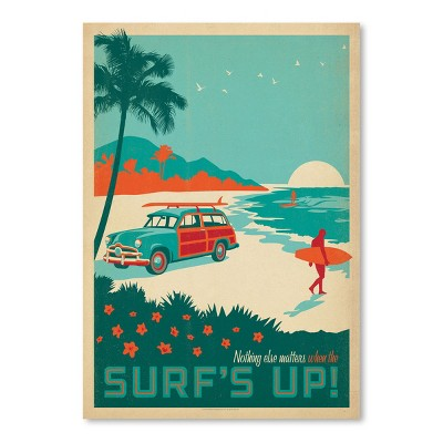 Cc Surfs Up by Anderson Design Group Art Print - Americanflat