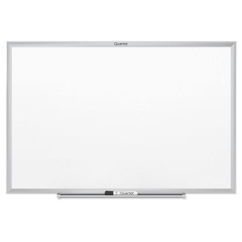 Quartet® 24 x 18 Standard Dry-Erase Board, Melamine- White (Aluminum ...