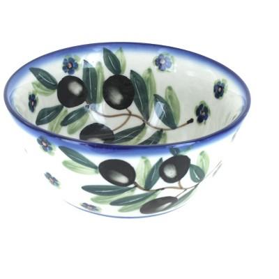 Blue Rose Polish Pottery Kalamata Cereal Bowl