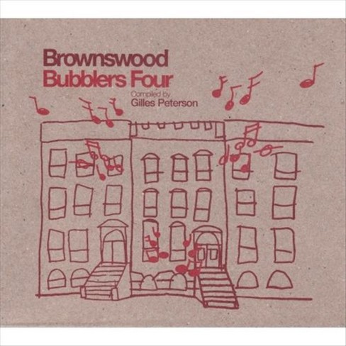 Various - Brownswood bubblers 4 compiled by gil (CD) - image 1 of 1