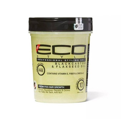 Ecoco Black Castor and Flaxseed Oil Styling Gel - 32 fl oz