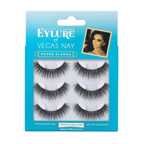 Eylure False Eyelashes Vegas Nay Grand Glamour - 3pr - image 1 of 4