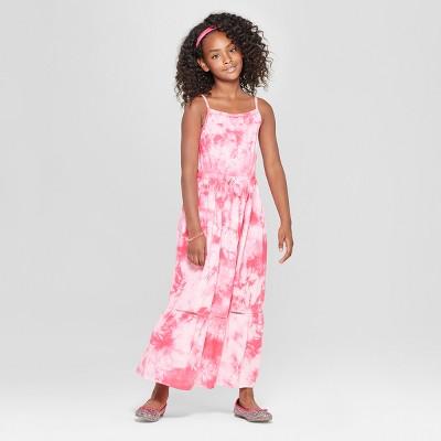 e6c91328b5ea Girls  Tiedye Maxi Dress - Cat   Jack™ Pink