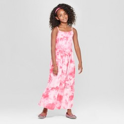 861f06f2afd Girls  Embroidered Woven Maxi Dress - Cat   Jack™ Blue   Target