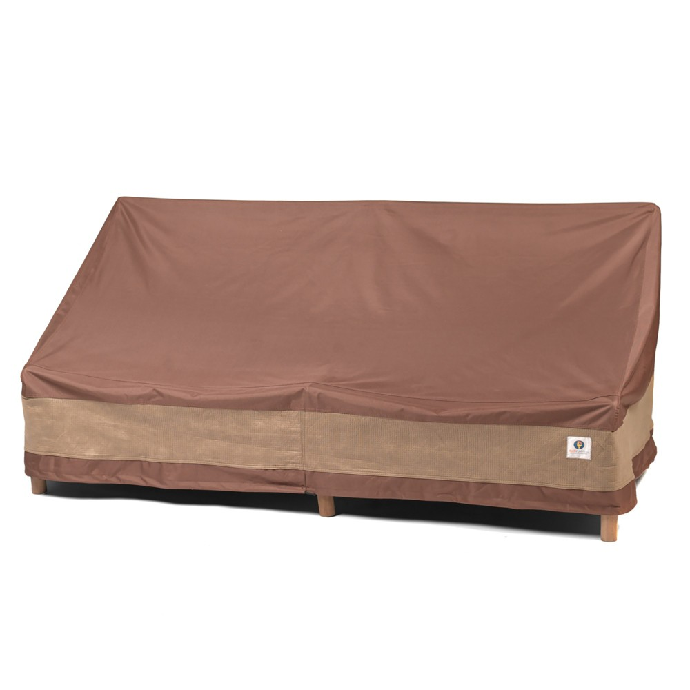 "Image of ""104""""W Ultimate Patio Sofa Cover Mochaccino - Classic Accessories"""
