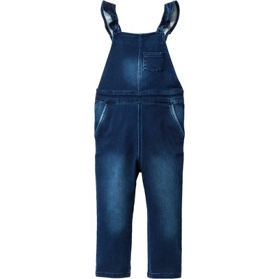 Toddler Girls' Denim Overalls - Genuine Kids® from OshKosh Medium Blue 12M