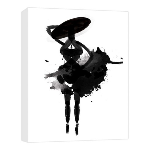 "Dancing Soul III Decorative Canvas Wall Art 11""x14"" - PTM Images - image 1 of 1"