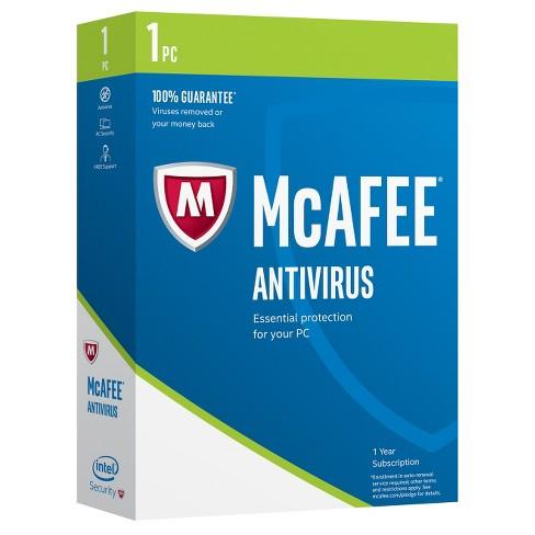 McAfee 2017 AntiVirus - 1 PC - image 1 of 1