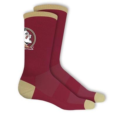 NCAA Florida State Seminoles Big Game Crew Socks