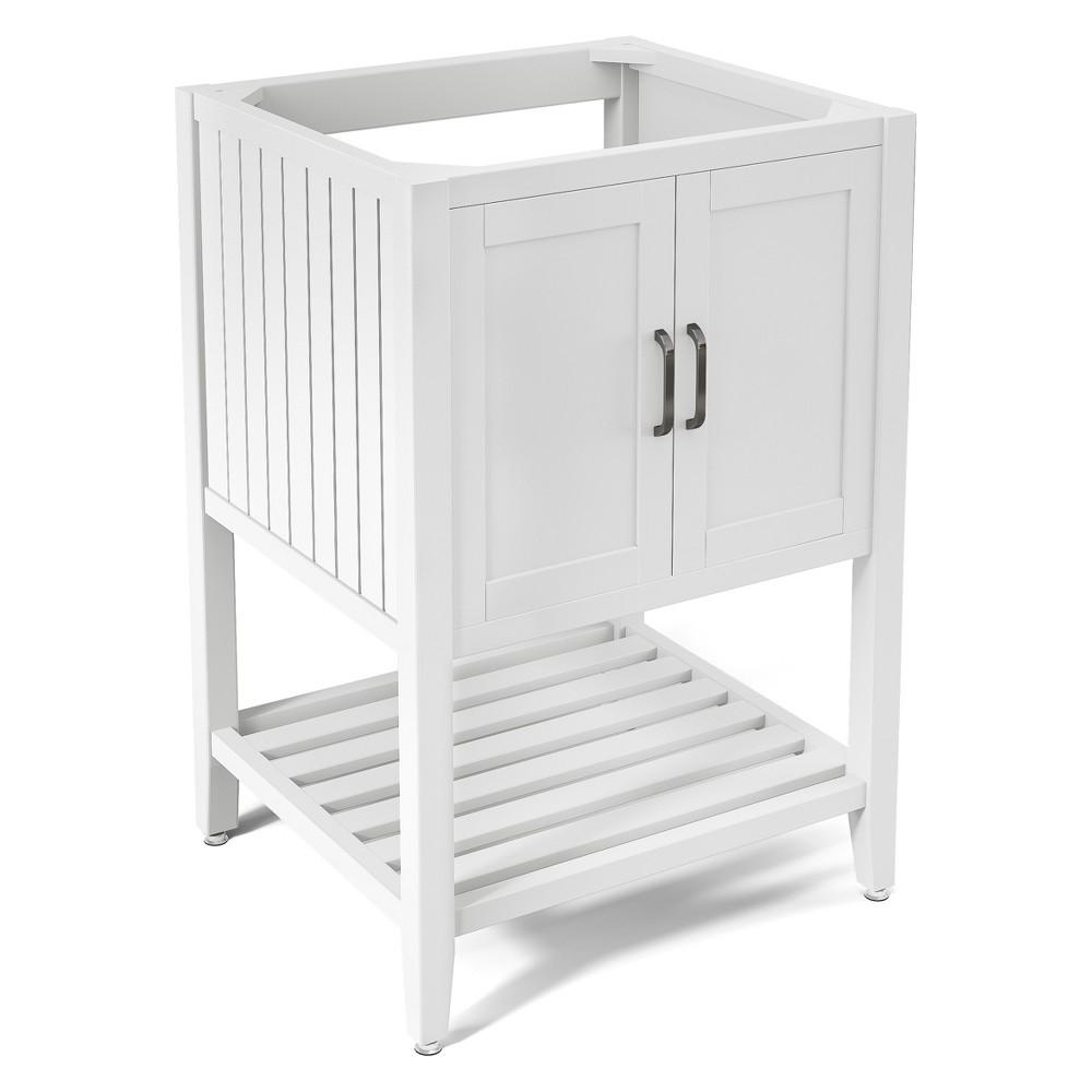 Bennett Bath Vanity Cabinet White 23 - Alaterre Furniture