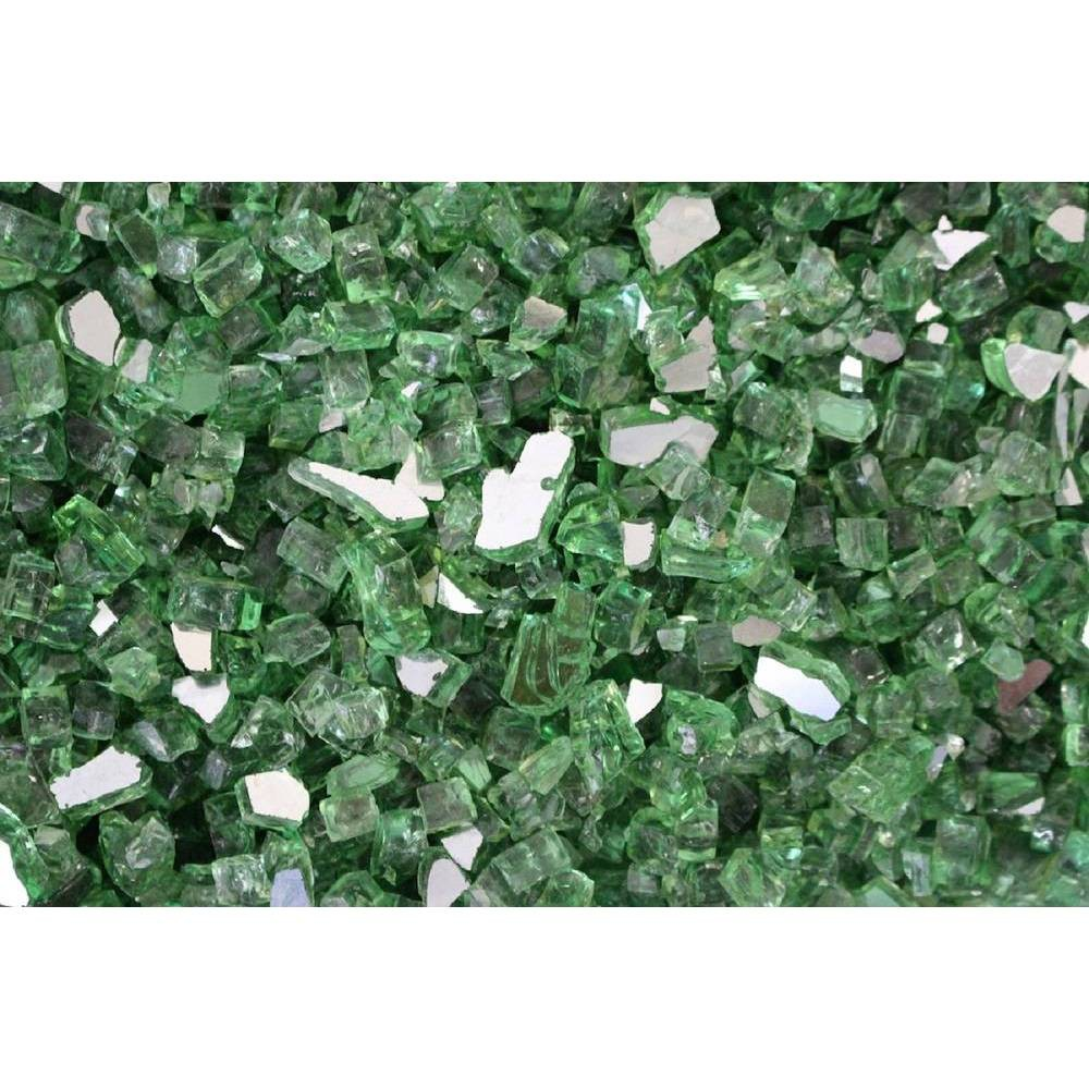 Image of Fire Pit Fire Glass - Green - AZ Patio Heaters