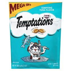 TEMPTATIONS Classic Treats for Cats Tempting Tuna Flavor 6.3 ozs
