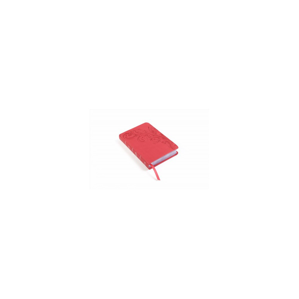 Holy Bible : Christian Standard, Ultrathin, Reference, Pink Leathertouch (Indexed) (Paperback)
