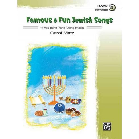 Famous & Fun Jewish Songs : 14 Appealing Piano Arrangements ...