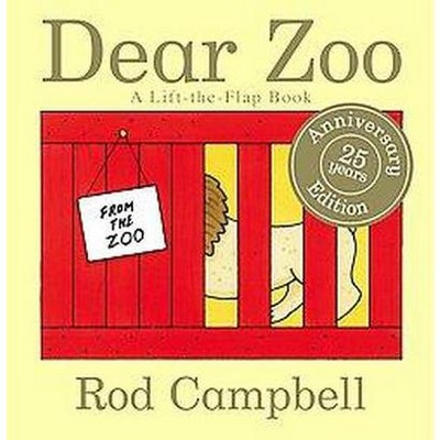 Dear Zoo 25 Years Anniversary Edition (Board Book)by Rod Campbell
