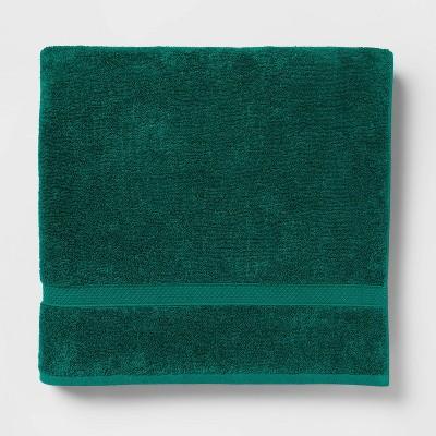 Soft Solid Bath Sheet Bluff Green - Opalhouse™