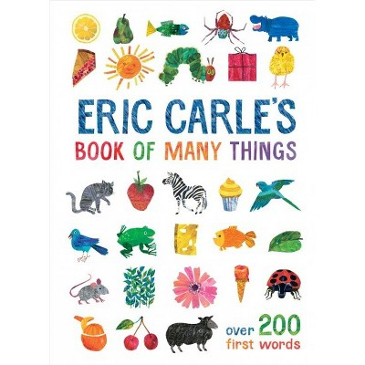 Eric Carle's Book of Many Things - (World of Eric Carle)(Hardcover)