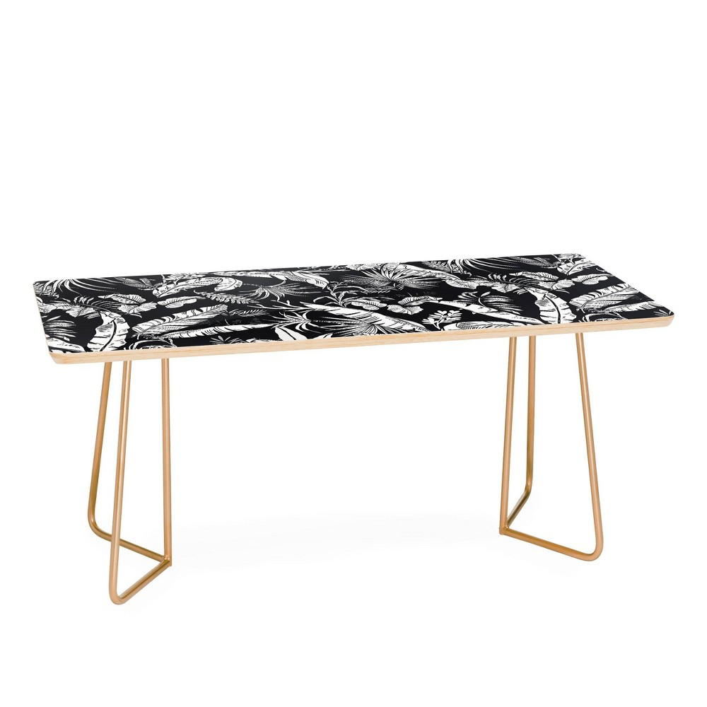 Marta Barragan Camarasa Jungle Coffee Table Gold Deny Designs