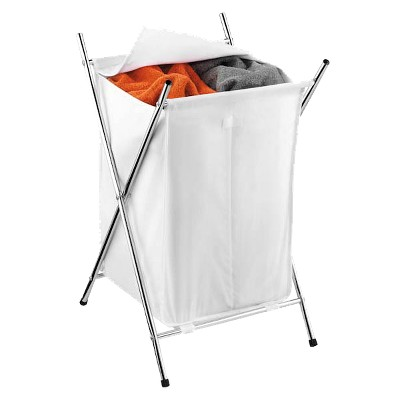 2-Compartment Folding Hamper