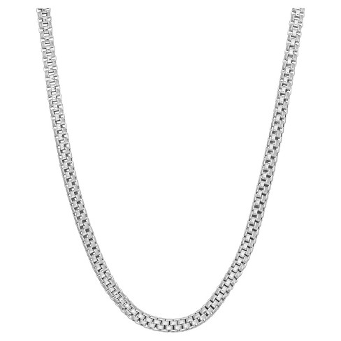 Tiara Sterling Silver Popcorn Link Chain Necklace - image 1 of 1