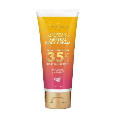 SheaMoisture Vitamin E & Jojoba Oil Mineral Sunscreen - SPF 35 - 6 fl oz