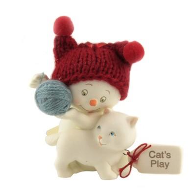 "Holiday Ornament 2.75"" Snowpinion Cats Play Ornament Ornament  -  Tree Ornaments"