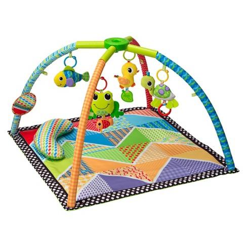 Infantino Twist N Fold Gym Playmat Pond Pals Target