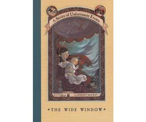 The Wide Window ( A Series of Unfortunate Events) (Hardcover) - image 1 of 1