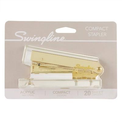 Swingline Acrylic Stapler - Gold