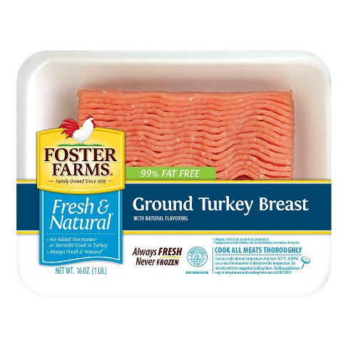 Foster Farms 99/1 Ground Turkey Breast - 16oz - image 1 of 1