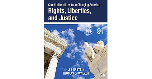 Constitutional Law for a Changing America : Rights, Liberties, and Justice (Revised) (Paperback) (Lee - image 1 of 1