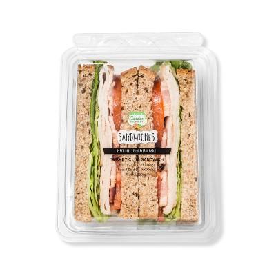 Fresh Garden Highway Turkey Club Sandwich - 10.25oz