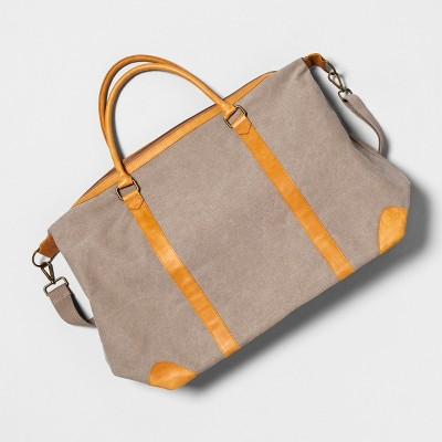Large Weekender Bag - Gray - Hearth & Hand™ with Magnolia